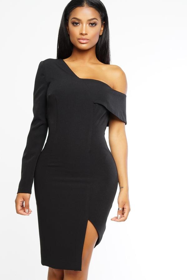 Hilaria Dress - Black