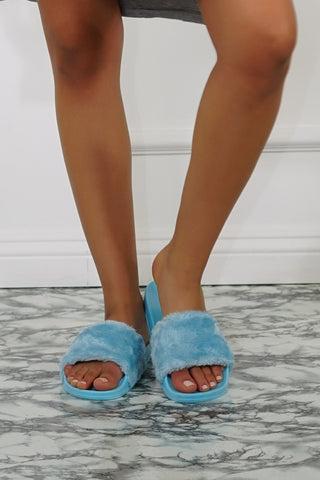Moira Slides - Blue