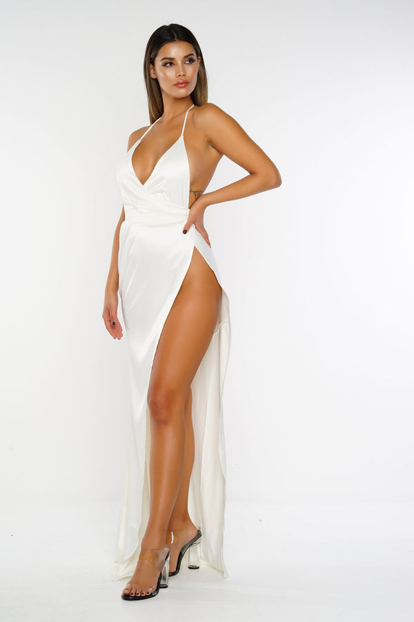 Isabella Dress - Ivory