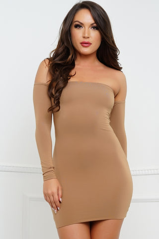 Teenage Fever Dress - Camel