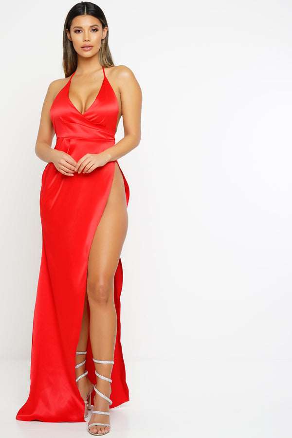 Isabella Dress - Red