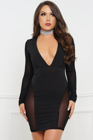 Sahana Dress - Black
