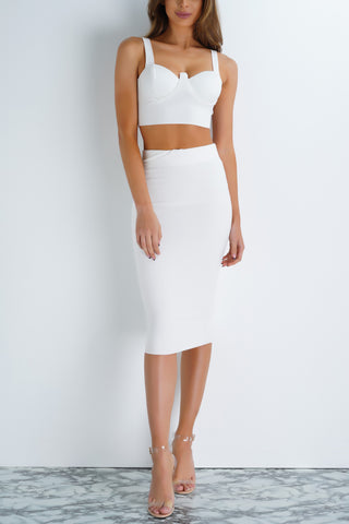 Caterina Set - White - WantMyLook