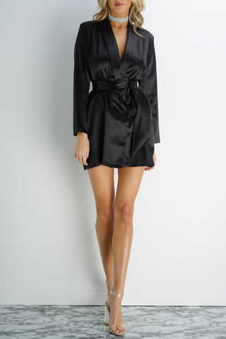 Kara Dress - Black - WantMyLook