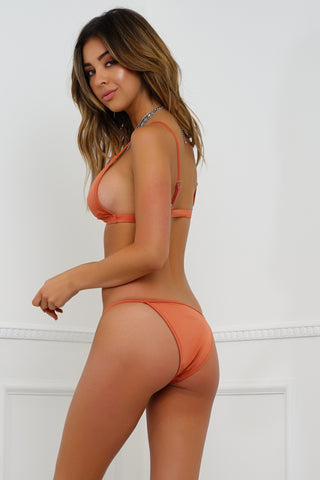 Summer Breeze Swim Bottom - Rust