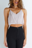 Nightdreamer Crop Tank - Grey