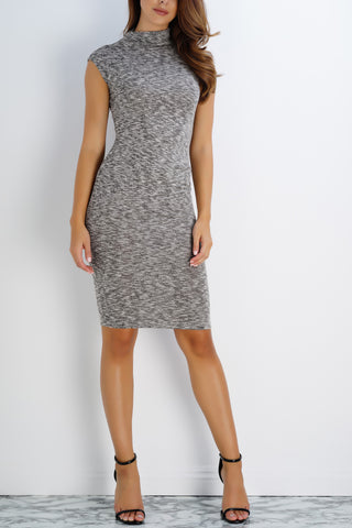 Miranda Dress - Heather Grey - WantMyLook