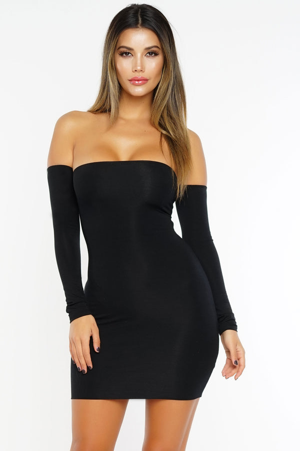 Teenage Fever Dress - Black