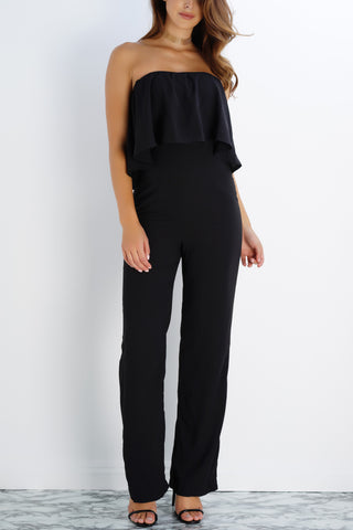 Blake Multi Way Jumpsuit - Black - WantMyLook