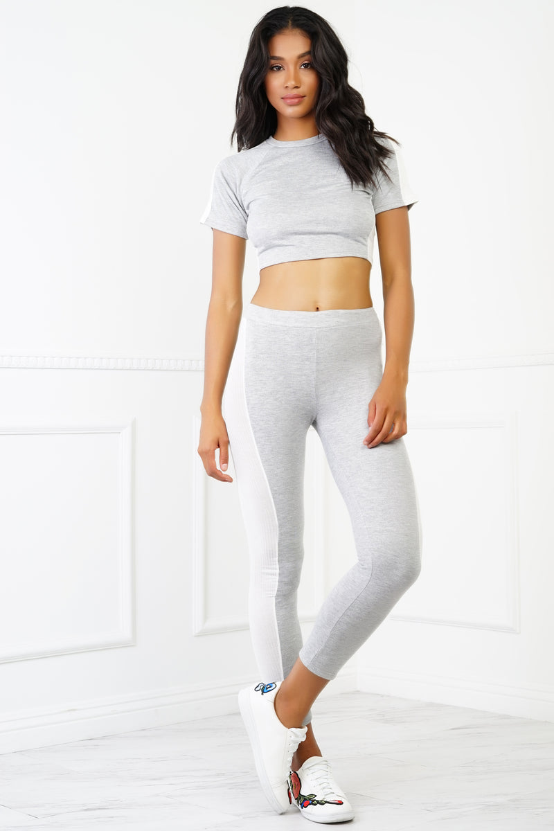 Tilly Set - Heather Grey