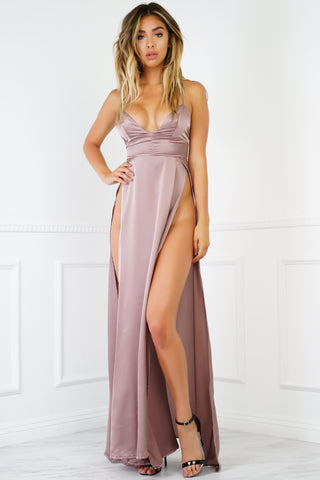 Reid Dress - Taupe