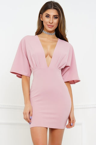 Miami Bay Dress - Mauve