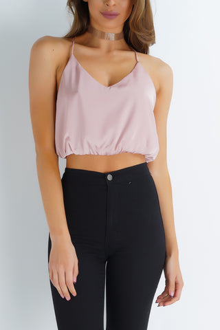 Nightdreamer Crop Tank - Pink