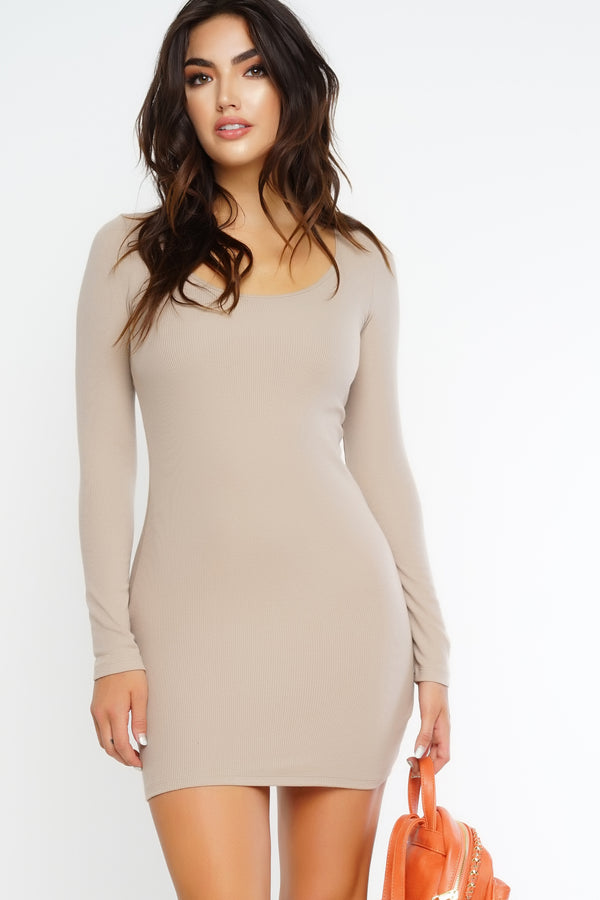 Beautiful Lie Dress - Nude