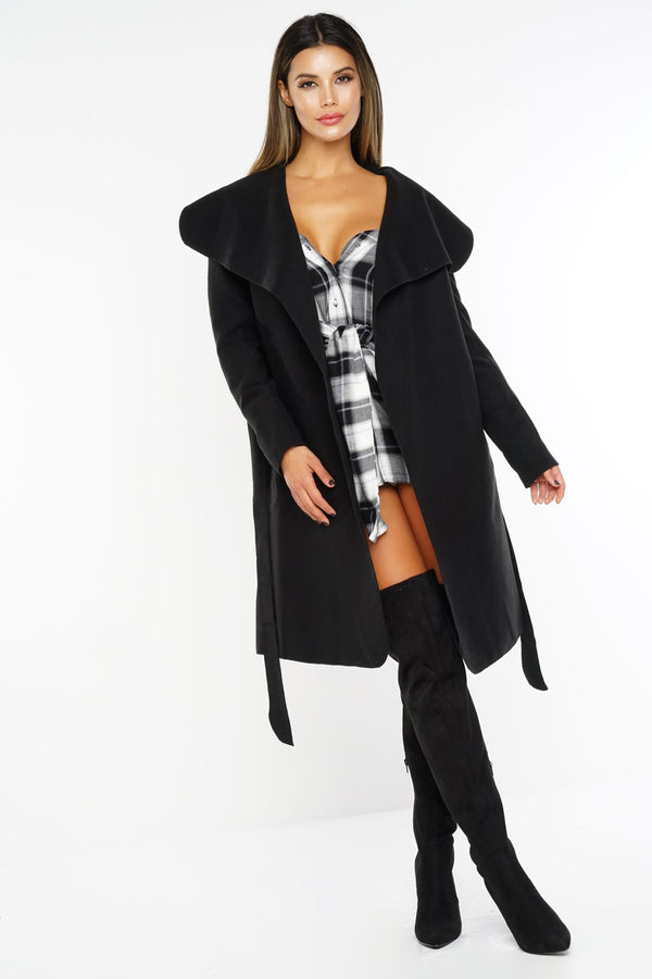 Caitlyn Coat - Black