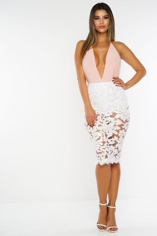 Iliana Skirt - White