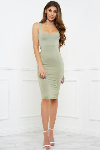 Heart Desires Dress - Green