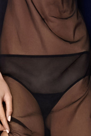 Maura Courreges Panty - Black - WantMyLook