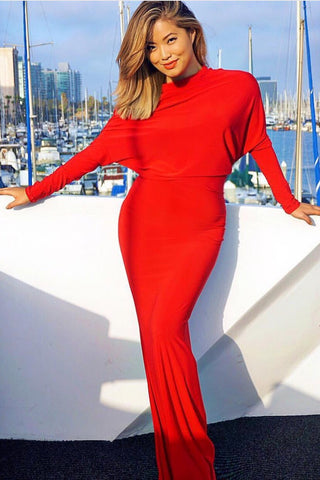 Taylor Gown - Red - WantMyLook