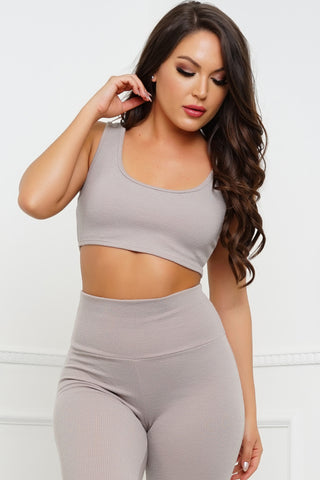 Sinclair Top - Taupe