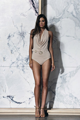 BOSSA Pianosa Bodysuit - Almond - WantMyLook