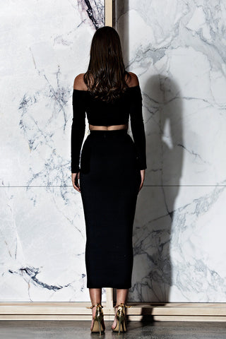 BOSSA Edessa Crop - Black - WantMyLook