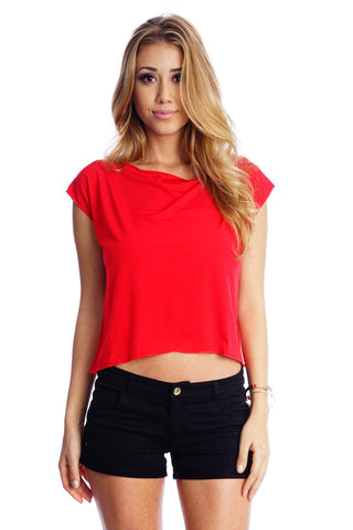 Essential Tee - Red - WantMyLook