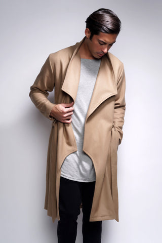 Ortega Trench Coat - Tan