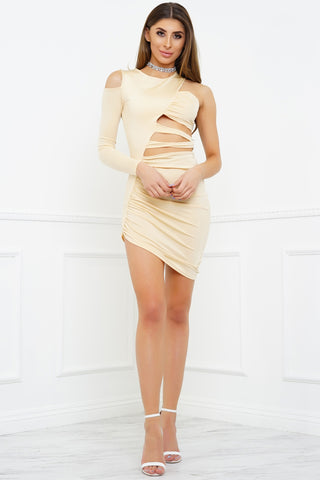 Sasha Dress - Nude