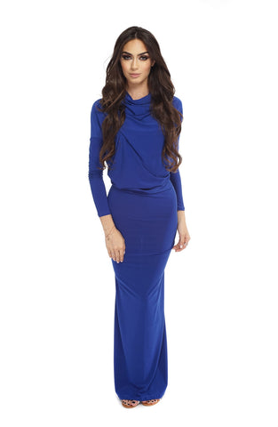 Taylor Gown - Blue - WantMyLook