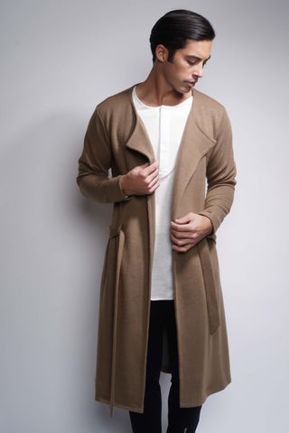 EO Long Cardigan - Tan
