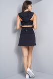 Theresa Tennis Skirt - Black
