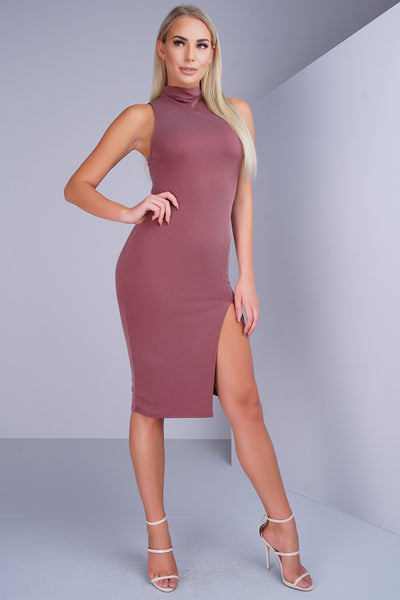Uptown Chic Dress - Marsala