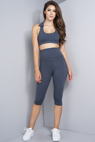 Whitney Workout Pants - Grey