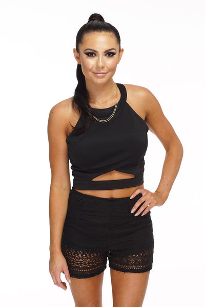 Gipsy shorts - Black - WantMyLook