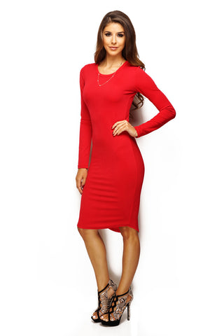 Abby Dress - Red - WantMyLook