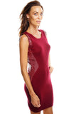 Remi Knit Dress - Burgundy