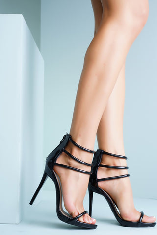 Zoe Heels - Black - WantMyLook