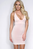 Fran Mini Dress - Blush