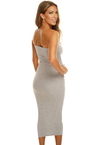 Cheyenne Dress - Heather Grey