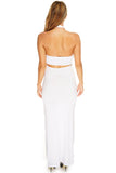 Portia Dress - White - WantMyLook