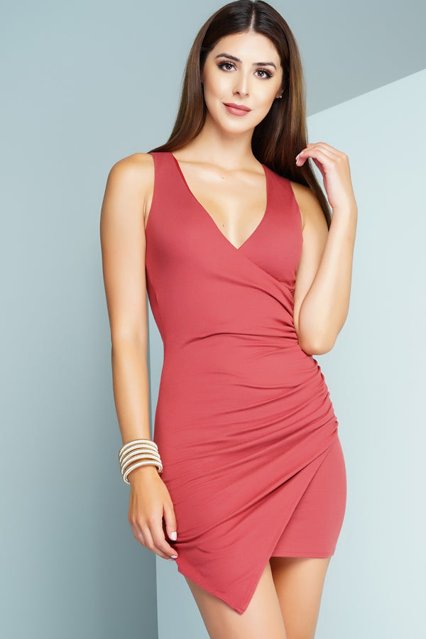 Iyana Dress - Red - WantMyLook