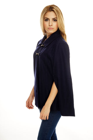 Magy Cape - Navy - WantMyLook
