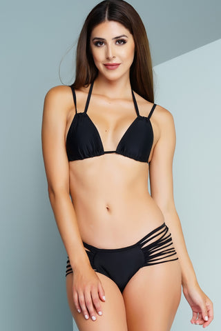 Slash Bikini - Black - WantMyLook