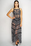Christie Maxi Dress - Cheetah Print
