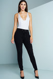 Drawstring Joggers - Black - WantMyLook