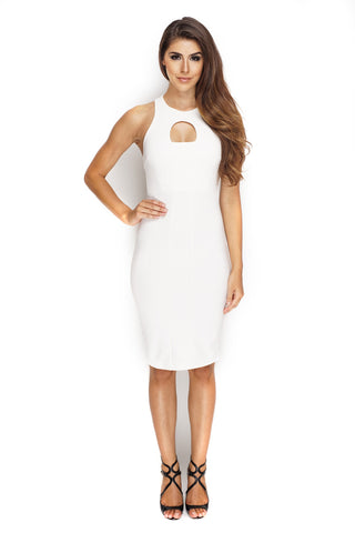 Jacqueline Dress - White - WantMyLook