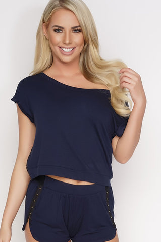 Kate Terry Tee - Navy
