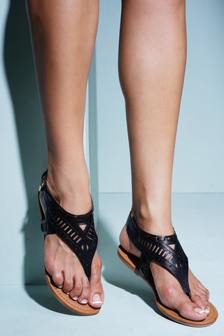 Paradise Sandals - Black - WantMyLook