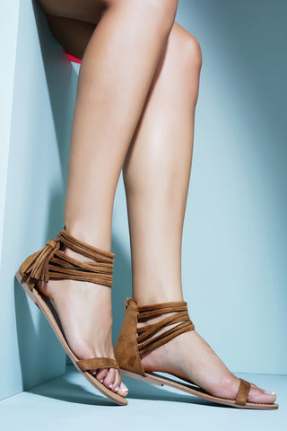 Divine Sandals - Camel - WantMyLook